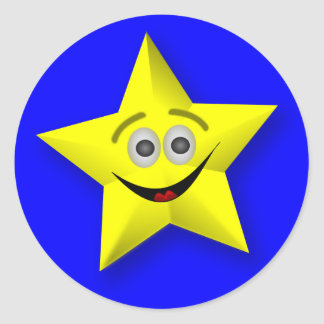 Pegatinas del premio del profesor sonriente de la pegatinas redondas