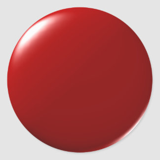 Pegatinas del punto de sangre pegatina redonda