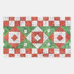 Pegatinas del rectángulo del mosaico del día de rectangular altavoz