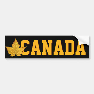 Pegatinas del recuerdo de Canadá de la pegatina pa Etiqueta De Parachoque