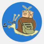 Pegatinas del snail mail