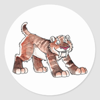 Pegatinas del tigre de Sabretooth