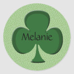 Pegatinas del trébol de Melanie