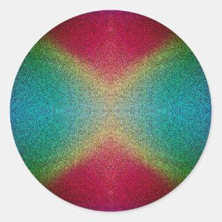 Pegatinas del universo colorido del Matemáticas-