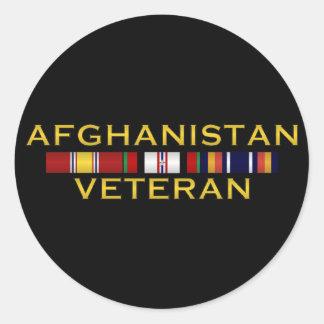 Pegatinas del veterinario de Afganistán Pegatina Redonda
