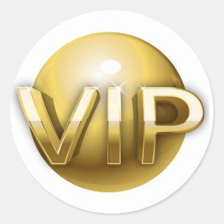 Pegatinas del VIP Pegatina Redonda