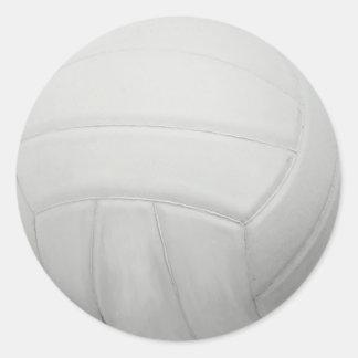 Pegatinas del voleibol pegatinas redondas