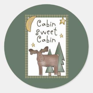 Pegatinas dulces de la cabina de la cabina