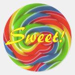 Pegatinas DULCES del Lollipop