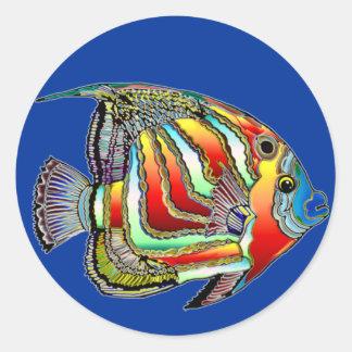 Pegatinas e imanes de la vida del océano
