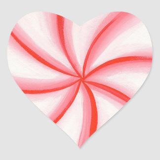 Pegatinas en forma de corazón del remolino de la pegatina corazon personalizadas