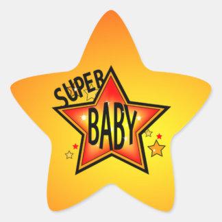 Pegatinas estupendos de la forma de la estrella pegatina en forma de estrella
