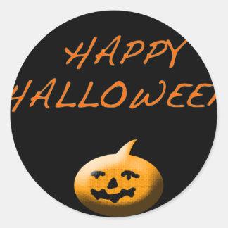 Pegatinas fantasmagóricos de Halloween Pegatinas Redondas