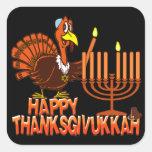 Pegatinas felices de Thanksgivukkah