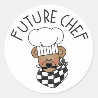 Pegatinas futuros de la cocina del cocinero