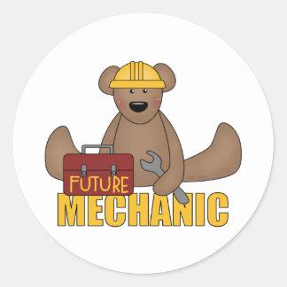 Pegatinas futuros del mecánico