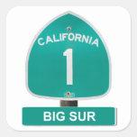 Pegatinas grandes de Sur de la carretera 1 de Cali