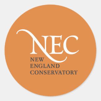 Pegatinas grandes del NEC Pegatina Redonda