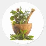 Pegatinas--Hierbas