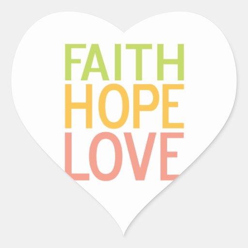Pegatinas inspirados cristianos del amor de la pegatina en forma de corazón