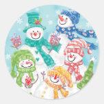 Pegatinas lindos del navidad