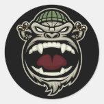 Pegatinas locos del mono