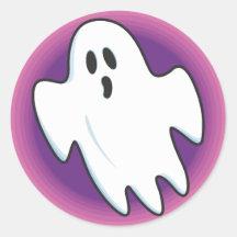 Pegatinas maravillosos del fantasma pegatinas redondas