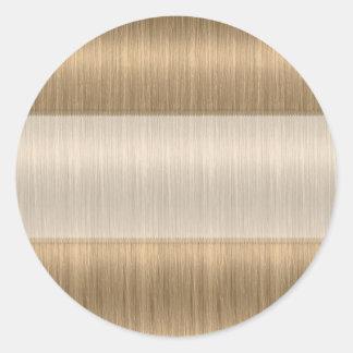 Pegatinas más oscuros del espacio en blanco del pegatina redonda