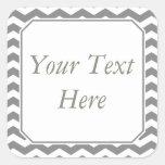 Pegatinas o etiquetas grises y blancos con el text