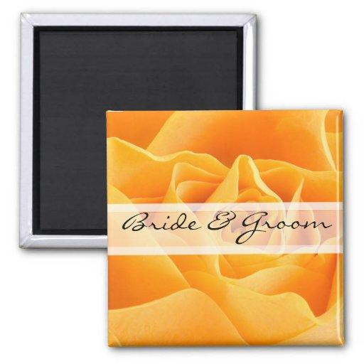 Pegatinas o personalizar del boda de la margarita  iman