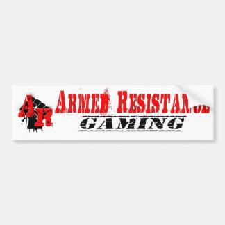 Pegatinas para el parachoques ARMADAS de la RESIST Etiqueta De Parachoque