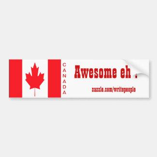 pegatinas para el parachoques canadienses pegatina para auto