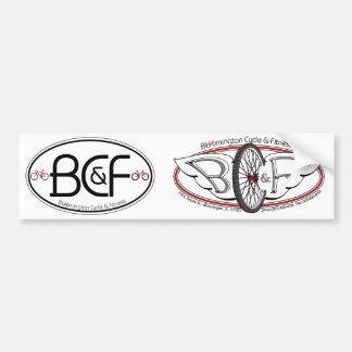 Pegatinas para el parachoques de BC&F DIY Etiqueta De Parachoque
