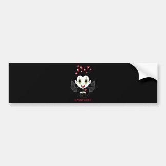 Pegatinas para el parachoques de Cute® de la cuent Pegatina Para Auto