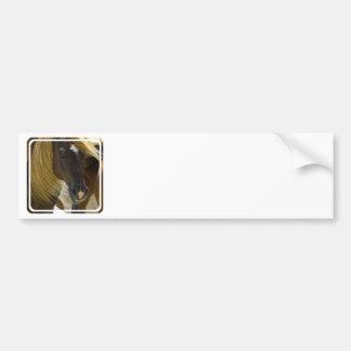 Pegatinas para el parachoques de la foto del cabal pegatina de parachoque