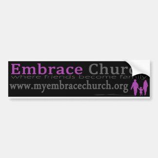 Pegatinas para el parachoques de la iglesia del ab pegatina para auto
