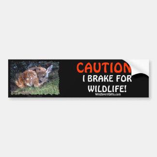 Pegatinas para el parachoques de los ciervos de la pegatina de parachoque