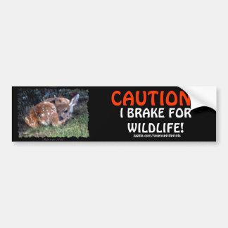 Pegatinas para el parachoques de los ciervos de la pegatina para auto