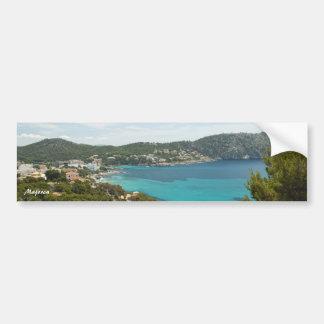 Pegatinas para el parachoques de Majorca Etiqueta De Parachoque