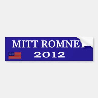 Pegatinas para el parachoques de Mitt Romney Pegatina Para Auto