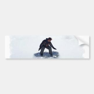 Pegatinas para el parachoques de Ollie de la snowb Etiqueta De Parachoque