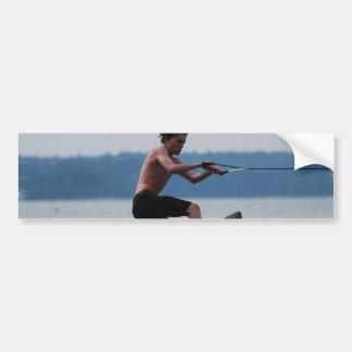 Pegatinas para el parachoques de salto del Wakeboa Etiqueta De Parachoque