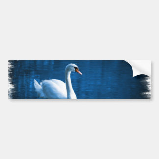 Pegatinas para el parachoques del cisne mudo etiqueta de parachoque