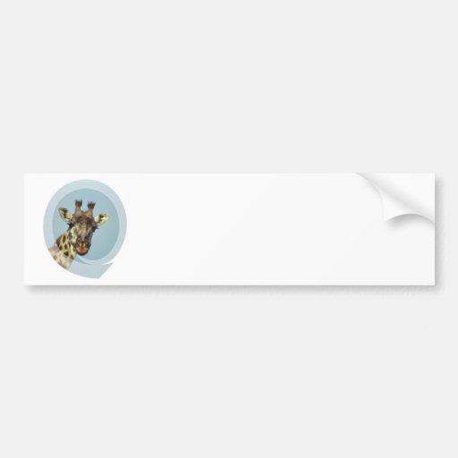 Pegatinas para el parachoques del diseño de la jir etiqueta de parachoque