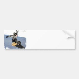 Pegatinas para el parachoques del lanzamiento de l pegatina para auto