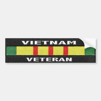 Pegatinas para el parachoques del veterano de pegatina para auto