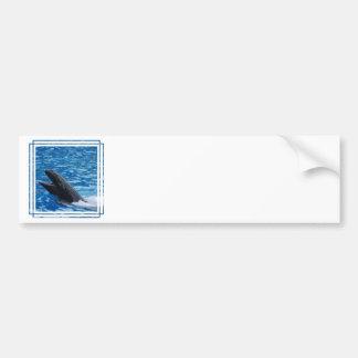 Pegatinas para el parachoques falsas de la orca pegatina de parachoque