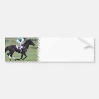 Pegatinas para el parachoques galopantes del cabal etiqueta de parachoque