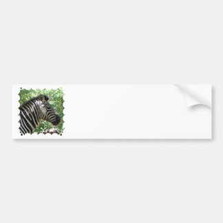 Pegatinas para el parachoques lindas de la cebra etiqueta de parachoque