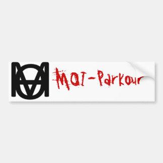 Pegatinas para el parachoques MOI-Parkour Pegatina Para Auto